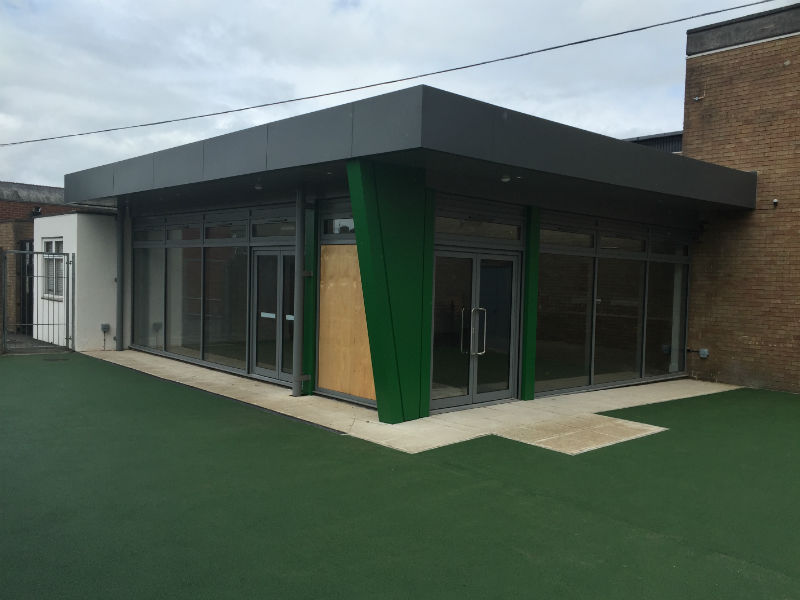 Dining Room Extension Ribblesdale High School Clitheroe